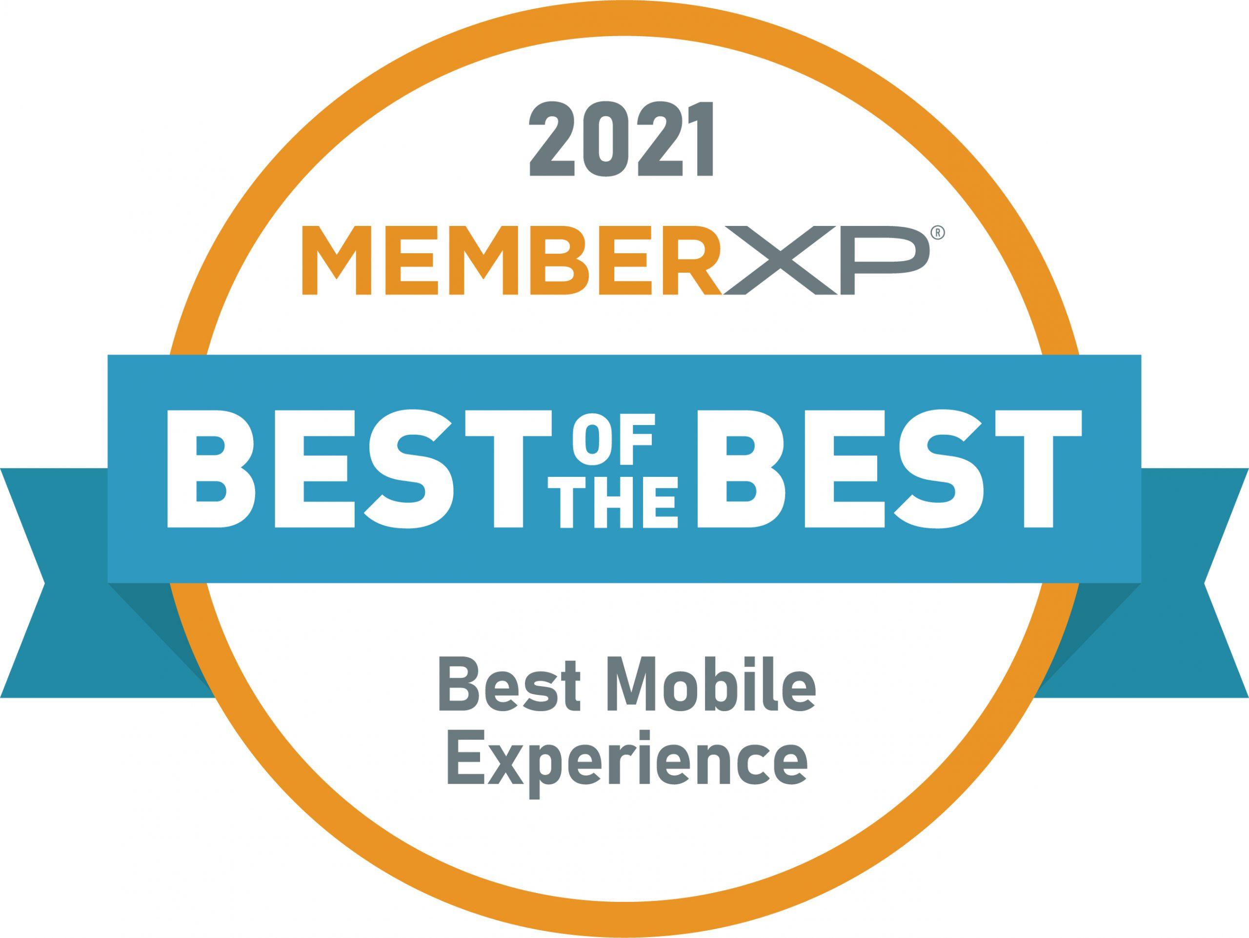MemberXP_Best_Mobile_Experience_Seal