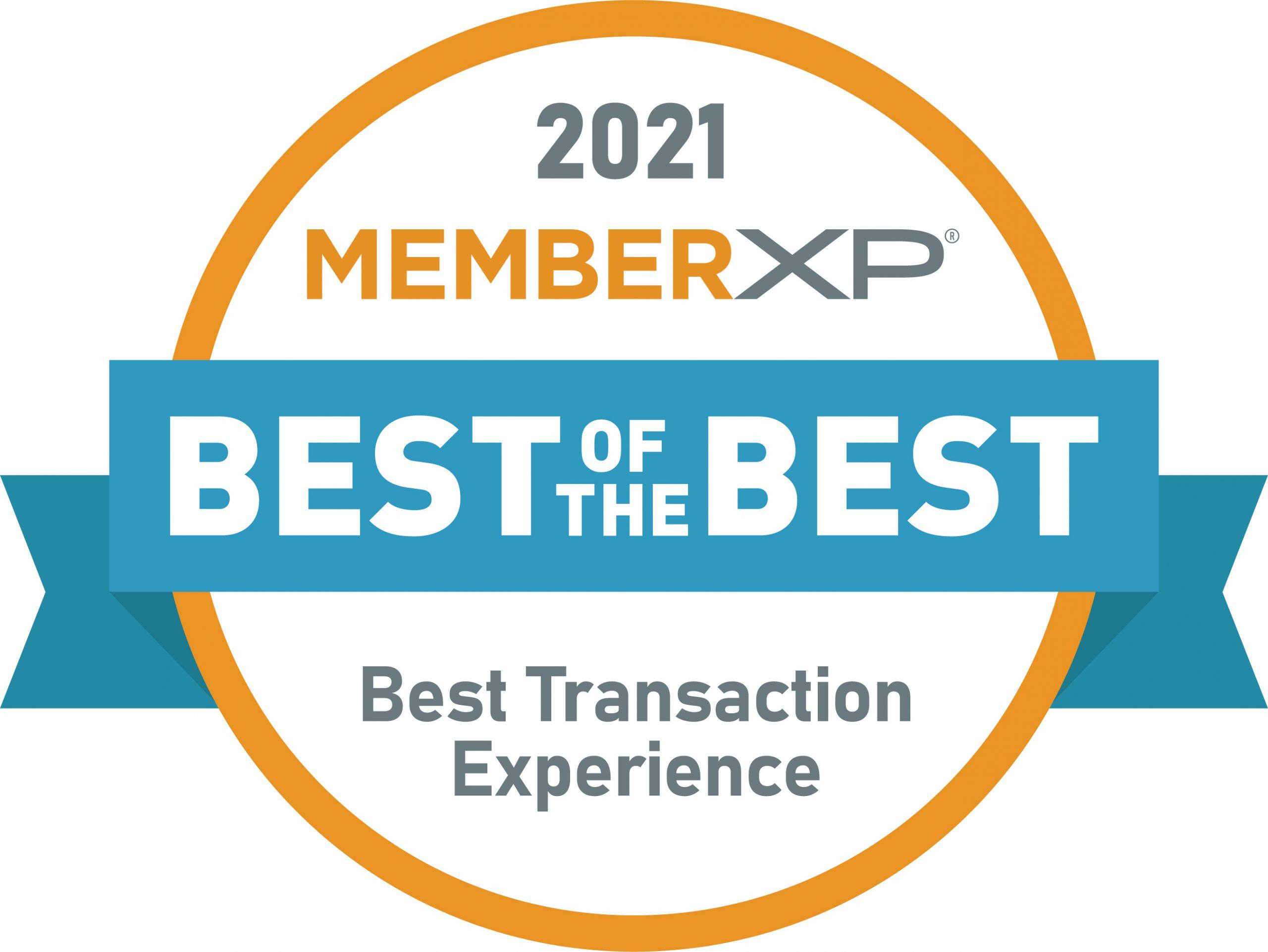 MemberXP_Best_Transaction_Seal